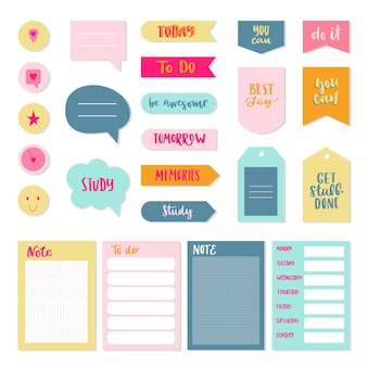 Planner plakboek set