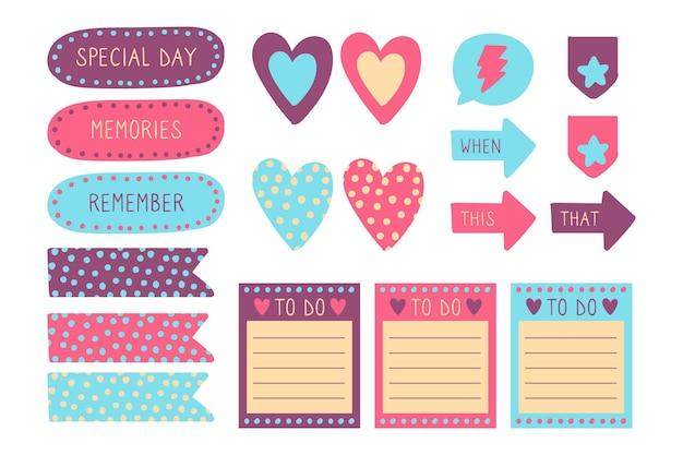 Planner plakboekpakket