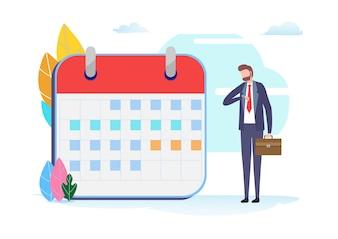 Planning van het businessplan.