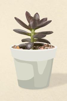 Plant vector kunst, sappige illustratie