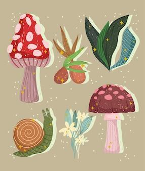 Planten natuur botanisch