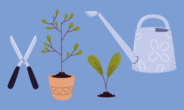 Plantgereedschap set