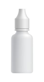Plastic lege apotheek verpakking fles