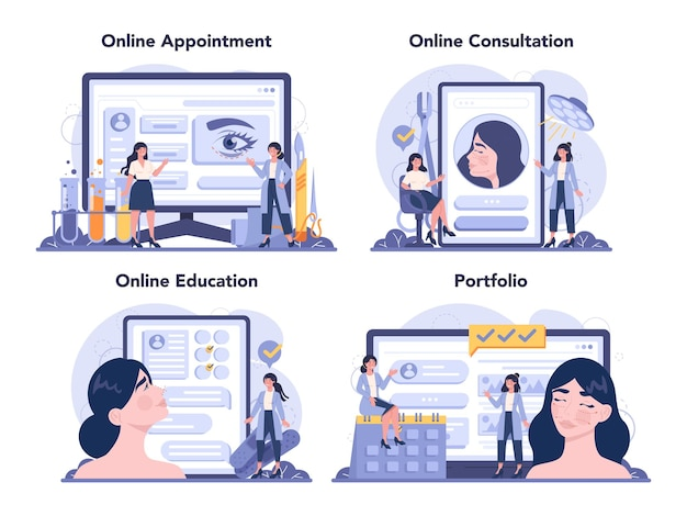 Plastisch chirurg online service of platformset