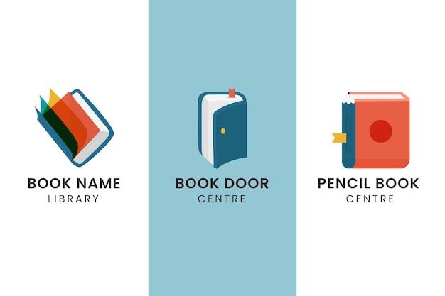 Plat boeklogopakket