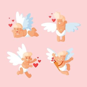Plat cupido-karakterpakket