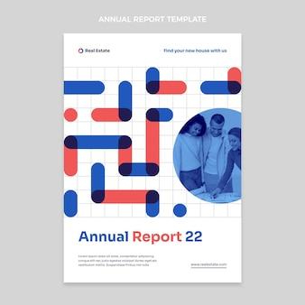 Plat geometrisch vastgoed jaarverslag