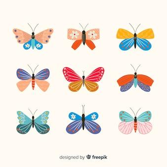 Plat ingericht vlinderspakket