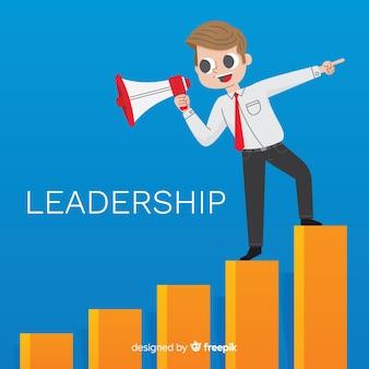 Plat leiderschapontwerp