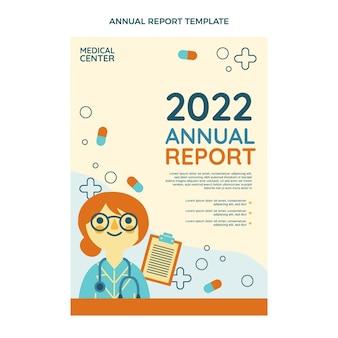 Plat ontwerp medisch jaarverslag