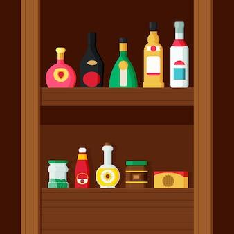 Plat ontwerp pantry