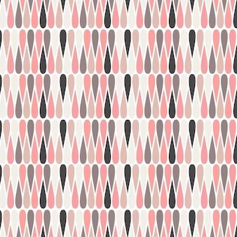 Plat ontwerp scandinavisch design patten