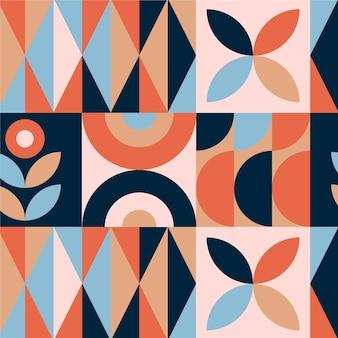 Plat ontwerp scandinavisch ontwerppatroon