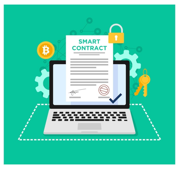 Plat ontwerp van smart contract