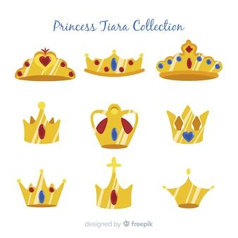 Plat prinses tiara pakket