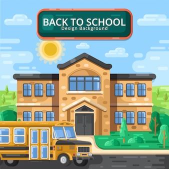 Plat terug naar school