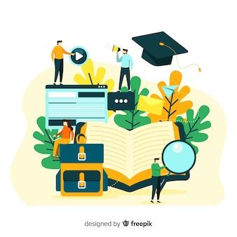 Plat universitair concept