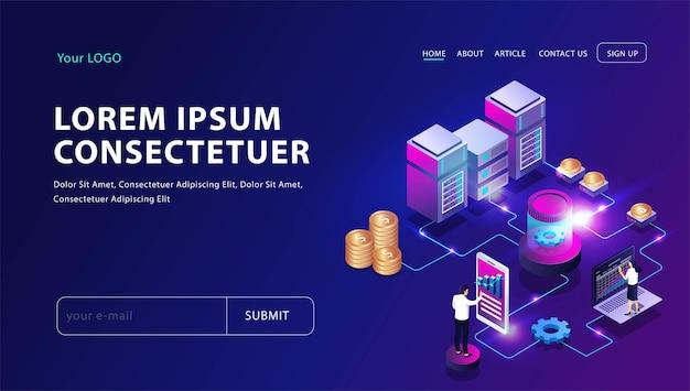 Platform zet bitcoin om in dollars