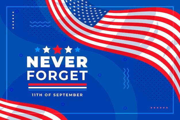 Platte 9.11 patriot dag achtergrond