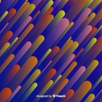 Platte abstracte gradiënt dynamische achtergrond