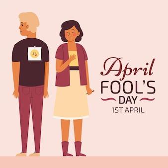 Platte april dwazen dag