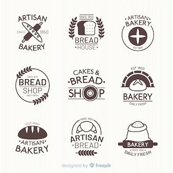 Platte bakkerijlogo's