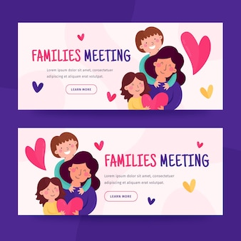 Platte banners ontwerpen
