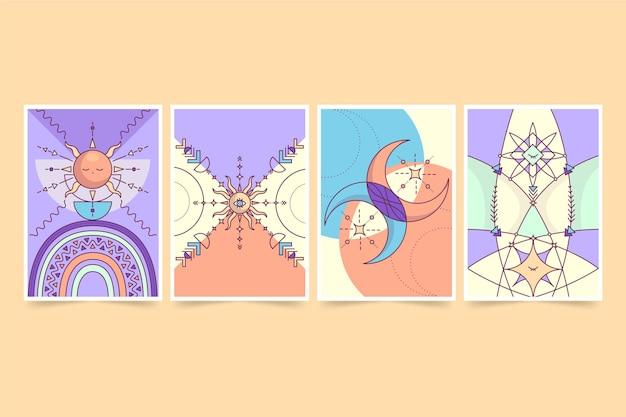 Platte boho covers collectie
