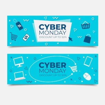 Platte cyber maandag set
