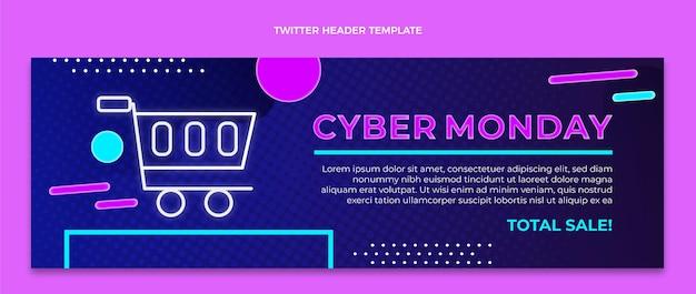 Platte cyber maandag twitter header