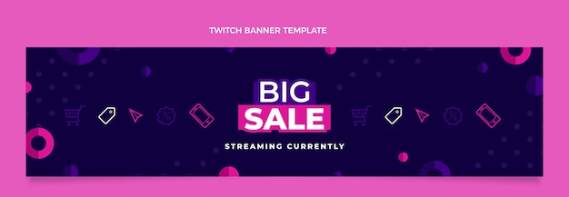 Platte cyber monday twitch cover