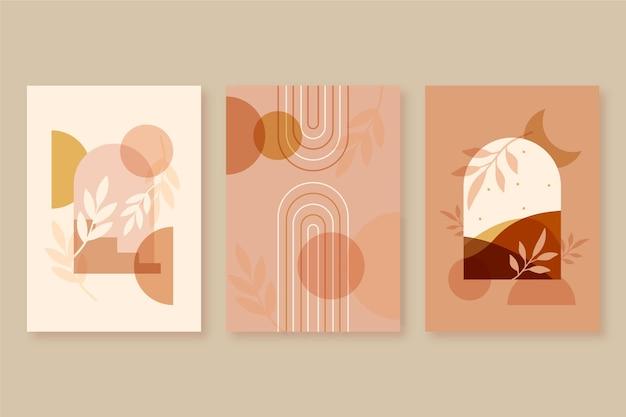Platte design boho hoezen