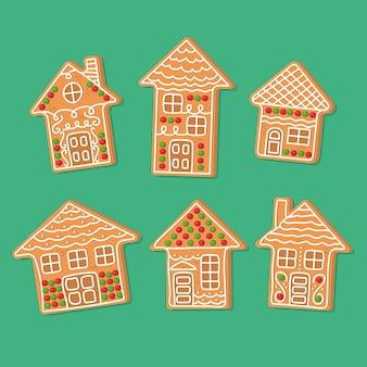 Platte design peperkoek huis pack