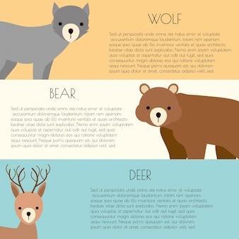 Platte dieren