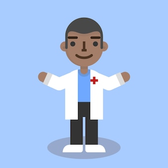 Platte dokter man