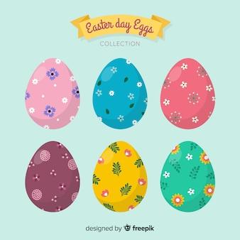 Platte ei verzameling van pasen