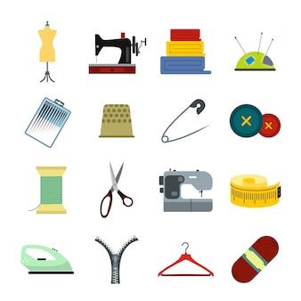 Platte elementen naaien voor web en mobiele apparaten