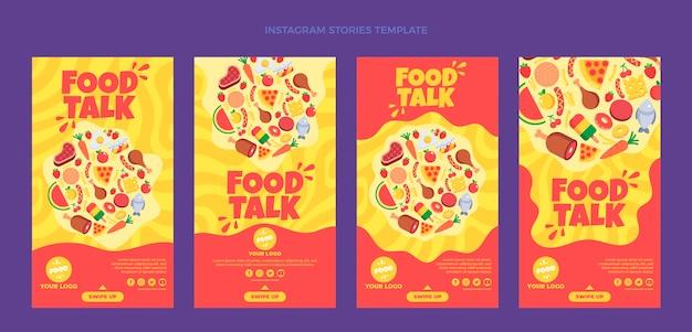 Platte eten ig verhalen