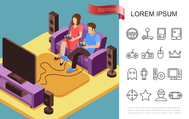 Platte gaming concept