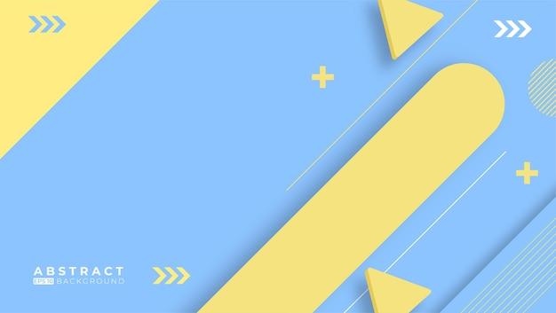 Platte geometrische achtergrond