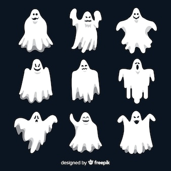 Platte halloween ghost collection