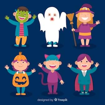 Platte halloween kind collectie