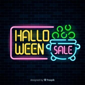 Platte halloween verkoop commerciële verlichting
