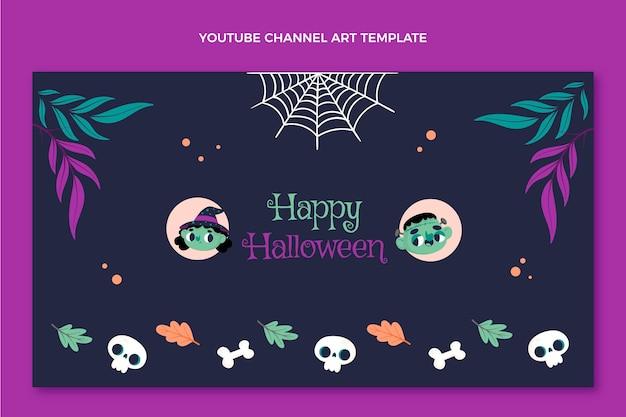 Platte halloween youtube-kanaalkunst