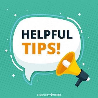 Platte handige tips