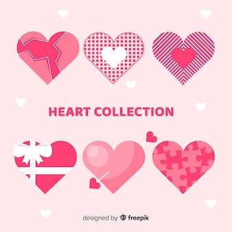 Platte hartcollectie