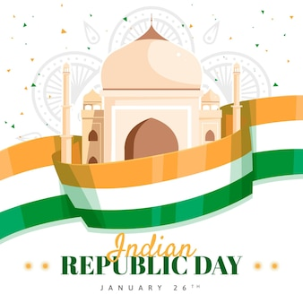 Platte indiase republiek dag
