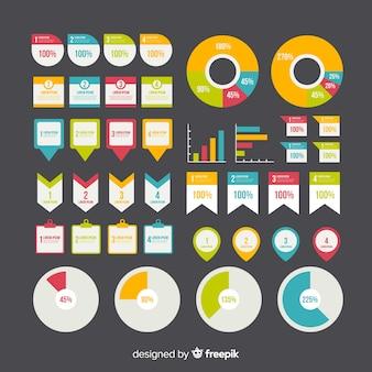 Platte infographic element