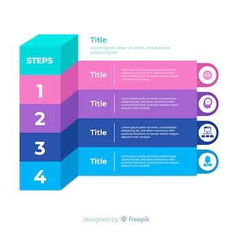 Platte infographic stap