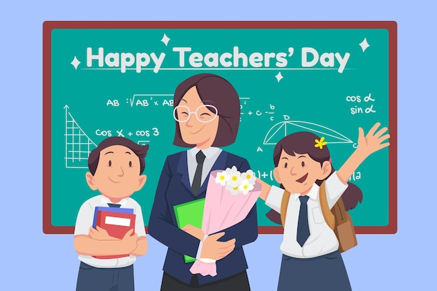 Platte lerarendag achtergrond